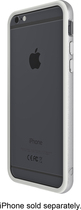 ZAGG - Orbit Hard Shell Case for Apple® iPhone® 6 Plus - Silver