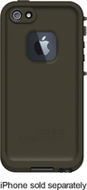 LifeProof - Case for Apple® iPhone® 5 and 5s - OD Green