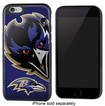Team ProMark - NFL Baltimore Ravens Rugged Case for Apple® iPhone® 6 - Black/Purple/Yellow