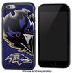 Team ProMark - NFL Baltimore Ravens Rugged Case for Apple® iPhone® 6 - Black/Purple/Yellow