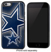 Team ProMark - NFL Dallas Cowboys Rugged Case for Apple® iPhone® 6 - Black/Blue/White