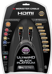 Monster - Black Platinum Series 9' In-Wall HDMI A/V Cable - Black