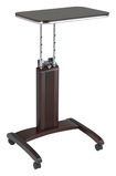 Pro-line Ii - Adjustable Laptop Stand - Mahogany\/chrome