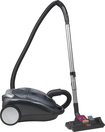 BISSELL - Pet Hair Eraser HEPA Bagless Canister Vacuum - Black Pearl