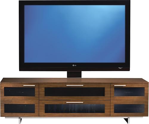 "BDI - Avion Series II TV Stand for Flat-Panel TVs Up to 75"" - Chocolate"