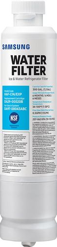 Samsung - Water Filter for Select Samsung Refrigerators - White