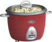 Rival - 6-Cup Rice Cooker - Red