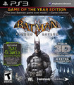 Batman: Arkham Asylum Game of the Year Edition - PlayStation 3