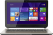 "Toshiba - Geek Squad Certified Refurbished Satellite 14"" Touch-Screen Laptop - Intel Core i5 - 6GB Memory - Satin Gold"