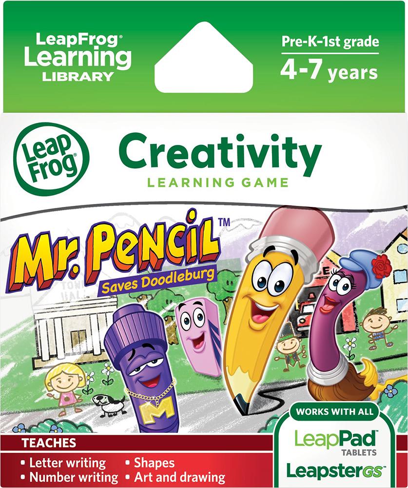 LeapFrog - Leapster Explorer Learning Game: Mr. Pencil Saves Doodleburg - Multi