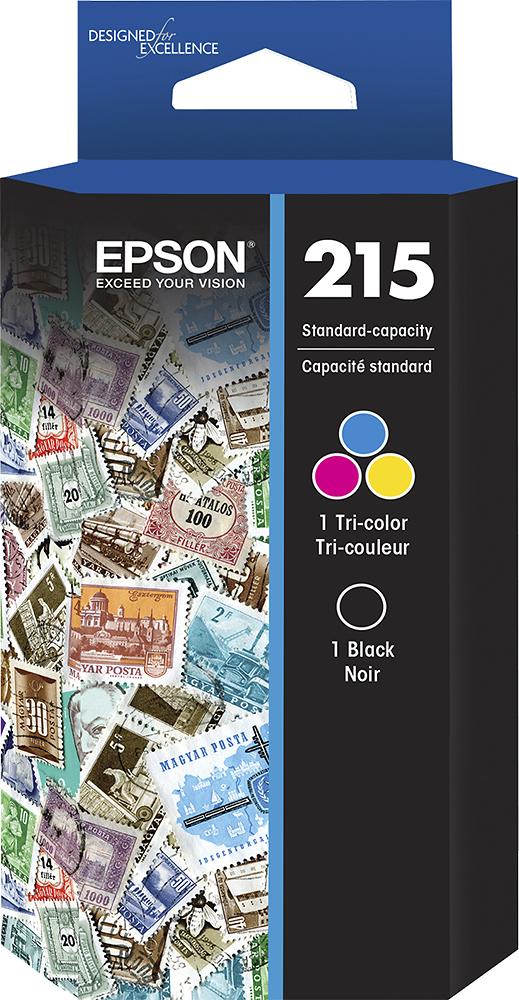 Epson - 215 2-Pack Ink Cartridges - Black/Cyan/Magenta/Yellow