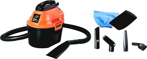 Armor All - 2.5 Gal. Wet/Dry Vacuum - Orange/Black