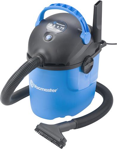 VacMaster - 2.5 Gal. Wet/Dry Vacuum - Blue