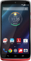 Motorola - DROID Turbo 4G LTE with 32GB Memory Cell Phone - Metallic Red (Verizon Wireless)