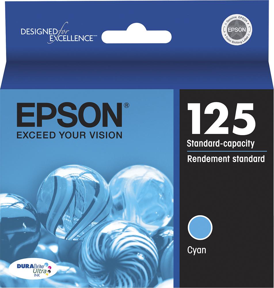 Epson - DURABrite 125 Ink Cartridge - Cyan