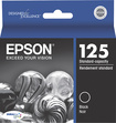Epson - DURABrite 125 Ink Cartridge - Black