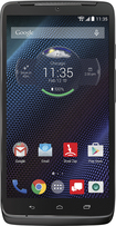 Motorola - DROID Turbo 4G LTE with 32GB Memory Cell Phone - Metallic Black (Verizon Wireless)