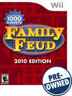 Family Feud: 2010 Edition — PRE-OWNED - Nintendo Wii