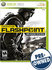 Operation Flashpoint: Dragon Rising — PRE-OWNED - Xbox 360