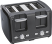 Oster - 4-Slice Toaster - Black