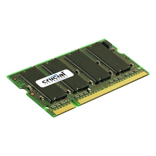 Crucial - 2GB 0.667GHz PC2-5300 DDR2 SO-Dimm Unbuffered Non-ECC Laptop Memory