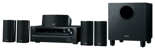 Onkyo - 660W 5.1-Ch. 3D Home Theater System - Black