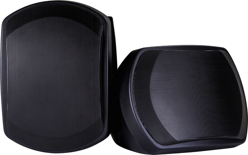 Onkyo - 2-Way Outdoor Speakers (Pair) - Black