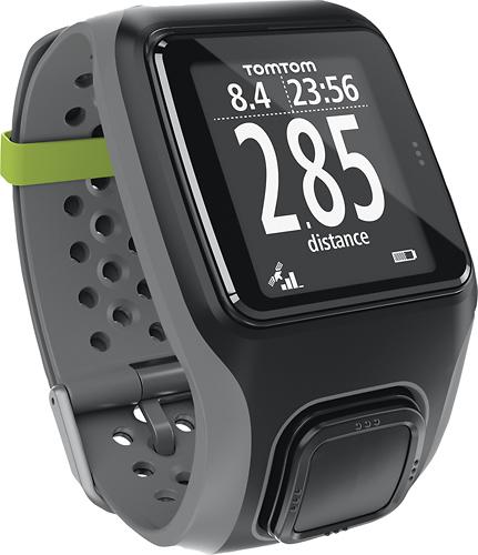 TomTom - Multisport GPS Watch with Waterproof Design - Dark Gray