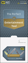 BestBuyGC - $50 The Perfect Entertainment Tool - Mega Options, One Place Gift Card - Multi