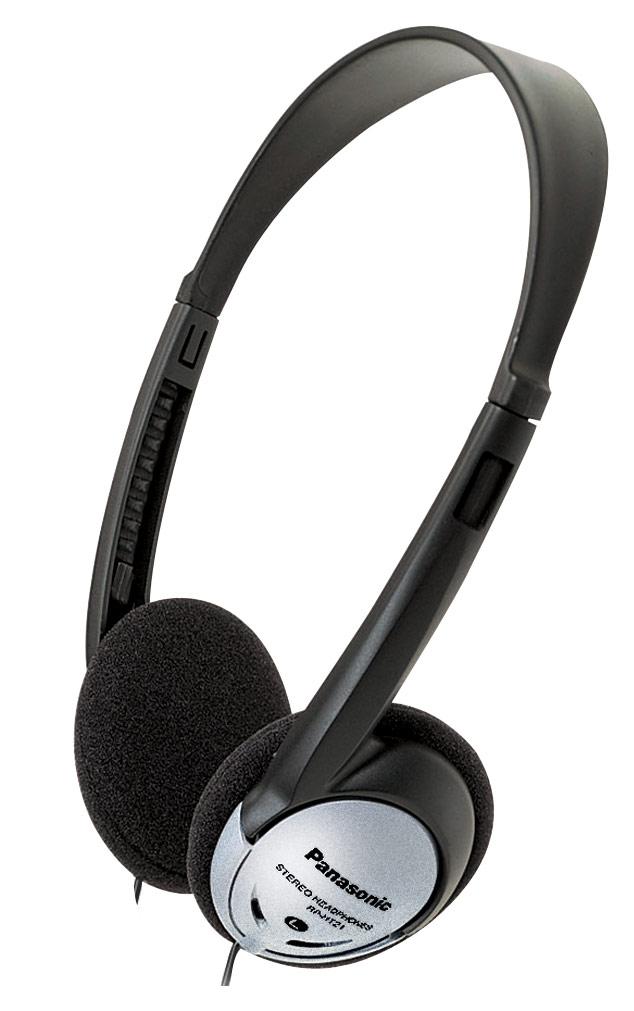 Panasonic - Over-the-Ear Monitor Headphones - Silver/Black