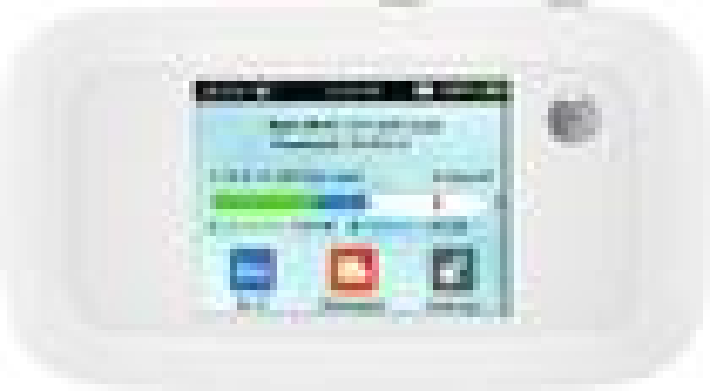 AT&T - Velocity 4G LTE Wireless Hotspot - White (AT&T)