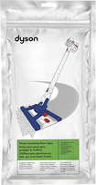 Dyson - Hard Floor Wipes for Dyson Hard DC56 Vacuums (1 Pack of 12 Wipes) - White