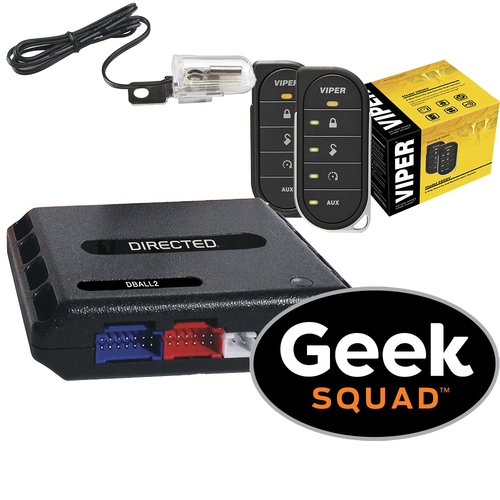 Viper - Viper 5806V 2-Way Responder LE Remote Start and Security System, Tilt Switch, Module and Geek Squadˊ Installation