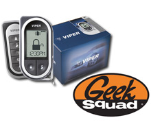 Viper 5704V 2-Way 1-Mile Security/Remote Start System and Geek Squad® Installation