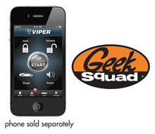 Viper VSM200 2-Way SmartStart Module for Viper Electronic Security Systems and Geek Squad® Installation