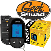 Viper Responder LC3 5706V 2-Way Remote Start and Security System & Geek Squad® Installation
