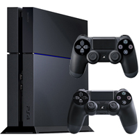 PS4 500GB Console and Controller