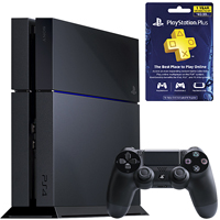 PS4 Bundle with PlayStation Plus 12-Month Membership