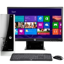 "HP Pavilion Slimline 400-314 Desktop & 23"" IPS LED Monitor Package"