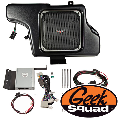 Kicker Digital Amplifier, Subwoofer, Enclosure & Geek Squad® Installation for Select 2012-2014 Ford Mustang Models