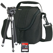 Accessory Package for Nikon Coolpix L830 Camera with 42'' Tripod, Bag & 8GB Memory Card