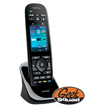 Logitech Harmony Ultimate One 15-Device Universal Remote & Geek Squad® Remote Control Programming
