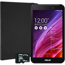 "ASUS MeMO Pad 7"" Tablet, Targus QuickFit Case & 16GB Memory Card"