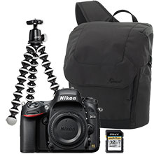 Nikon D610 24.3MP DSLR Camera (Body Only), Gorilla Tripod, Sling Bag & 32GB Memory Card