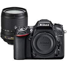 Nikon D7100 24.1MP DSLR Camera (Body Only) & Extra 18-105mm Zoom Lens
