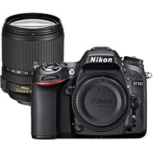 Nikon D7100 24.1MP DSLR Camera (Body Only) & Extra 18-140mm Zoom Lens