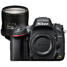 Nikon D610 24.3MP DSLR Camera (Body Only) & Extra 24-85mm Zoom Lens