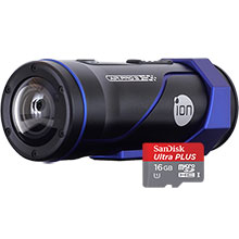 iON Air Pro 3 HD Flash Memory Camcorder & Free 16GB Memory Card