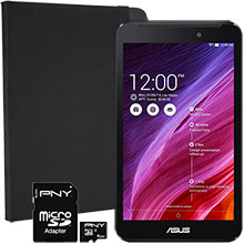 ASUS MeMO Pad 7, Case & 8GB Memory Card Package