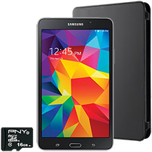 Samsung Galaxy Tab 4 7.0, Case & Memory Card Package